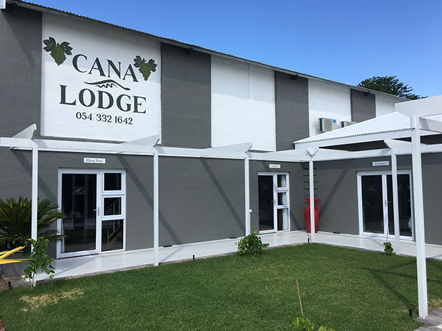 Gordonia Glas & Aluminium Previous Experience | Cana Lodge