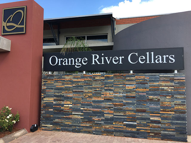 Gordonia Glas & Aluminium Previous Experience | Orange River Cellars - Wine Tasting Centre