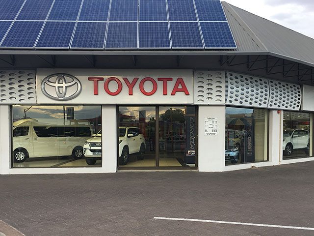 Gordonia Glas & Aluminium Previous Experience | Toyota Upington